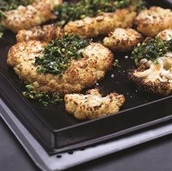 Picture of ROASTED CAULIFLOWER WITH PISTACHIO GREMOLATA